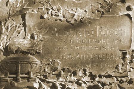 Alberto Bosch, Recoleta Cemetery