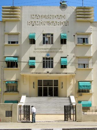 Hospital Ramón Sardá, Parque Patricios