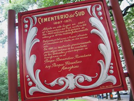 Cementerio del Sur, Parque Patricios, Buenos Aires