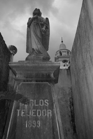 Carlos Tejedor, Recoleta Cemetery
