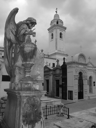Iglesia de Pilar, Recoleta Cemetery