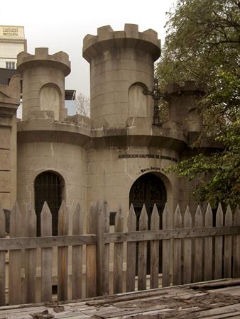Asociación Calpense, Recoleta Cemetery