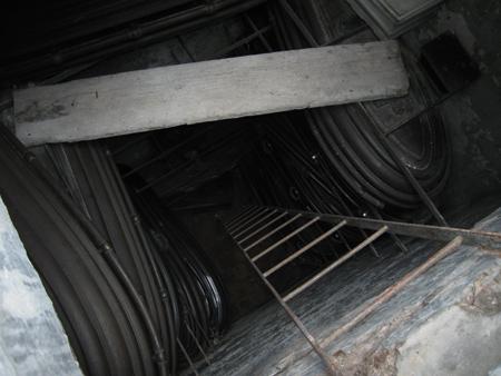 Underground storage, Recoleta Cemetery