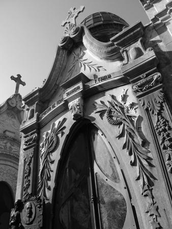 Felix Sobbrero, Recoleta Cemetery