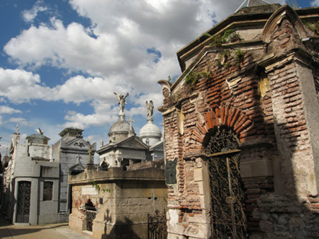 General view, Recoleta Cemetery