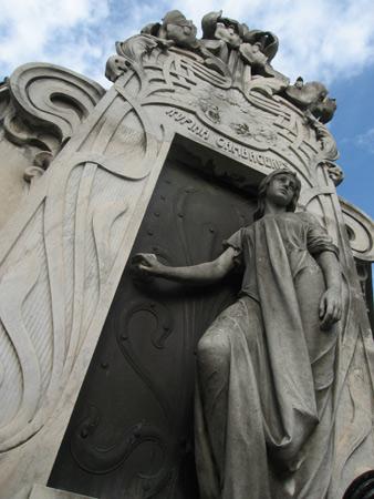 Rufina Cambacérès, Recoleta Cemetery