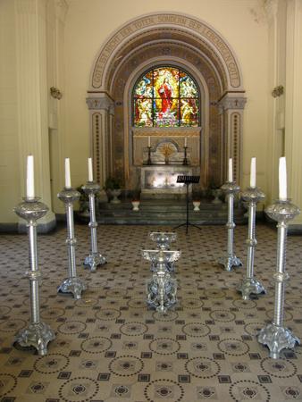 Cementerio Alemán, chapel