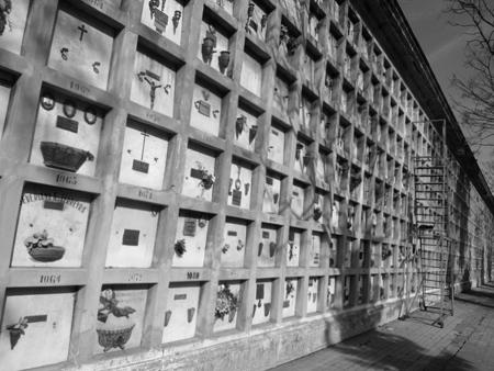 Cementerio de la Chacarita, Buenos Aires, niches