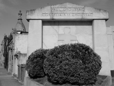 Paul Groussac, Chacarita Cemetery