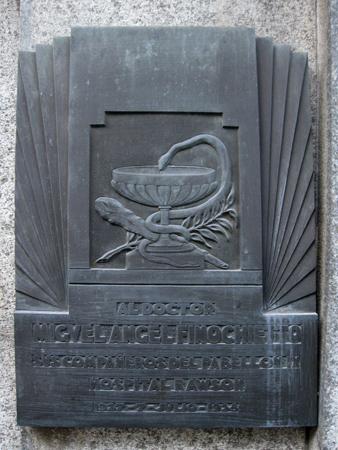 Recoleta Cemetery, Buenos Aires, Miguel Ángel Finochietto