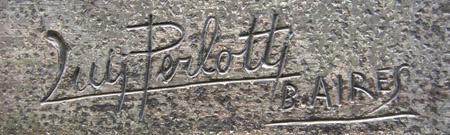 Luis Perlotti signature
