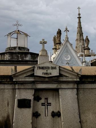 Francisco Chas, Recoleta Cemetery