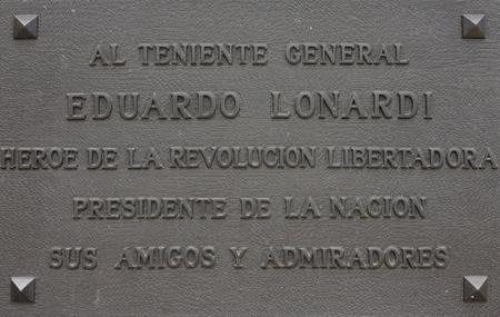Eduardo Lonardi, Recoleta Cemetery