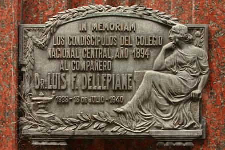 Dellepiane, Recoleta Cemetery