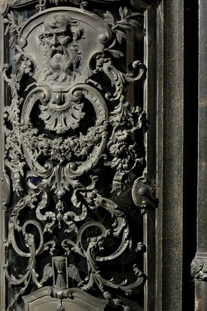 Door, name missing, Recoleta Cemetery