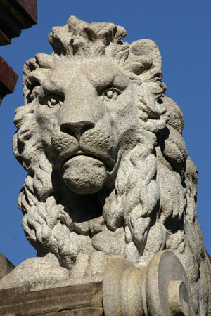 Lion sculpture, Recoleta Cemetery
