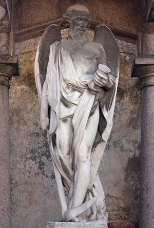 Juan Bautista de la Fuente, Chronos, Recoleta Cemetery
