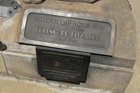 Rufino de Elizalde, Recoleta Cemetery