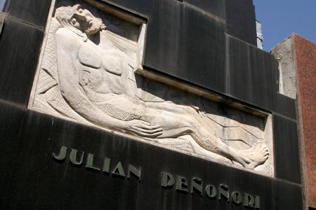 Julián Peñoñori, Recoleta Cemetery