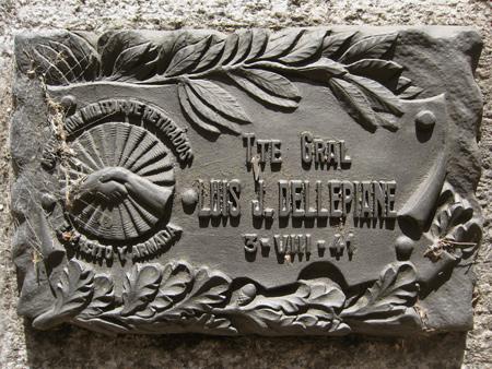 Luis J. Dellepiane, Recoleta Cemetery