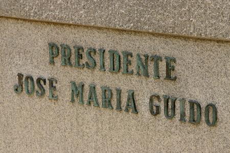 José María Guido, Recoleta Cemetery