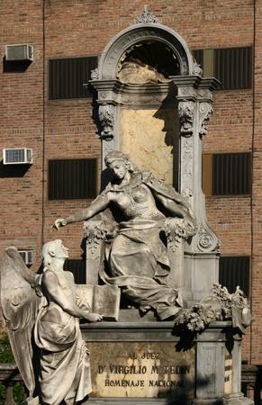 Recoleta Cemetery, Buenos Aires, Rufino Elizalde