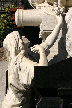 Luis María Campos, Recoleta Cemetery