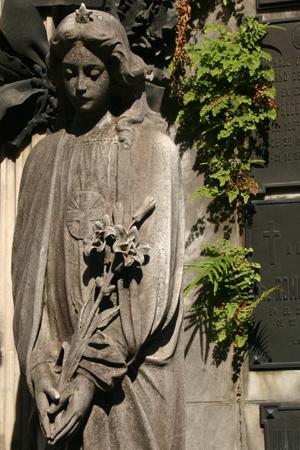 Bernardo de Irigoyen, Recoleta Cemetery