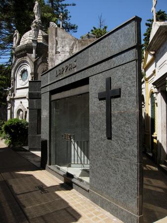 Lappas, Recoleta Cemetery