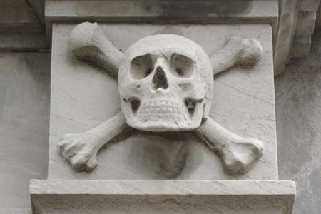 Skull & crossbones, Recoleta Cemetery