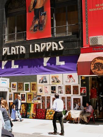 Plata Lappas, Calle Florida