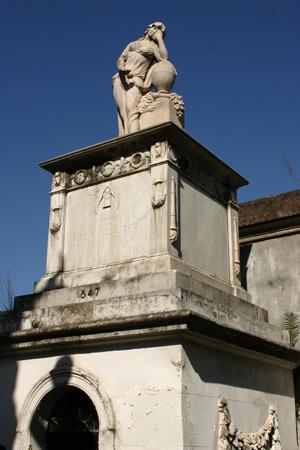 Manuel Alcorta, Recoleta Cemetery