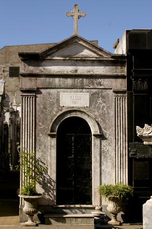 Juan José Paso, Recoleta Cemetery