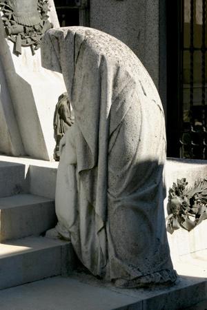 Ramón Falcón, Recoleta Cemetery