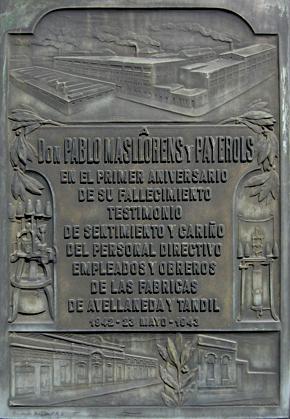 Masllorens, Recoleta Cemetery