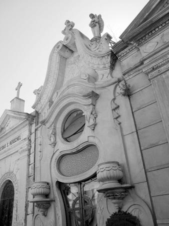 José Mármol, Recoleta Cemetery