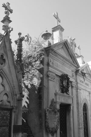 Carlos Calvo, Recoleta Cemetery
