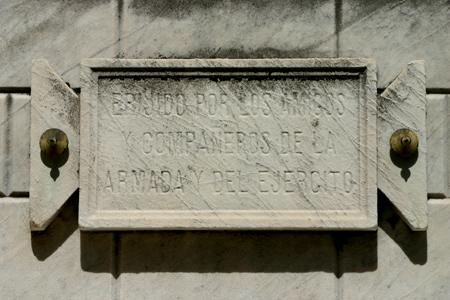 Comodoro Luis Py, Recoleta Cemetery