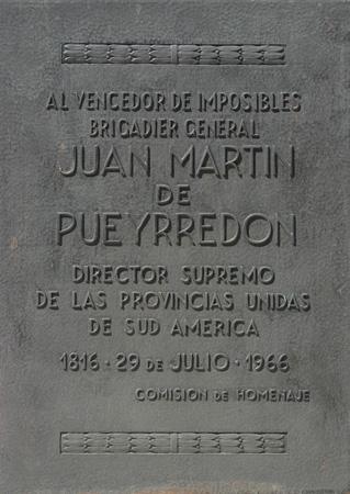 Buenos Aires, Recoleta Cemetery, Juan Martín Pueyrredón