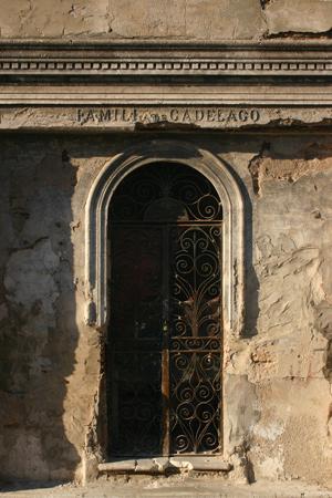 Familia de Cadelago, Recoleta Cemetery