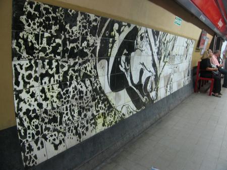 Subte, Línea B, estación Uruguay