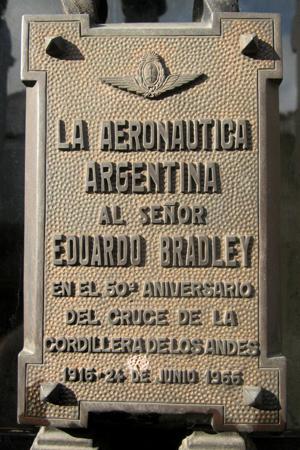 Eduardo Bradley, Recoleta Cemetery