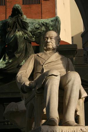 Salvador María del Carril, Recoleta Cemetery