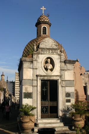 Recoleta Cemetery, Buenos Aires, Florencio Varela