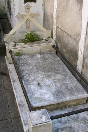 Remedios de Escalada, Recoleta Cemetery