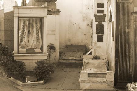 Padres del Libertador & Remedios de Escalada, Recoleta Cemetery
