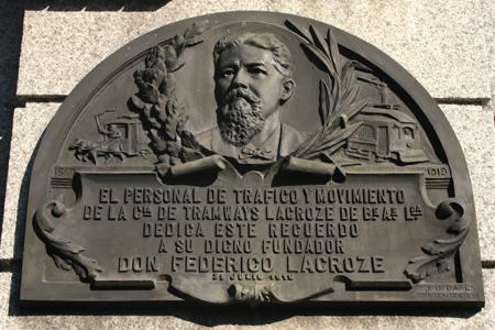 Recoleta Cemetery, Buenos Aires, Lacroze/Fortabat