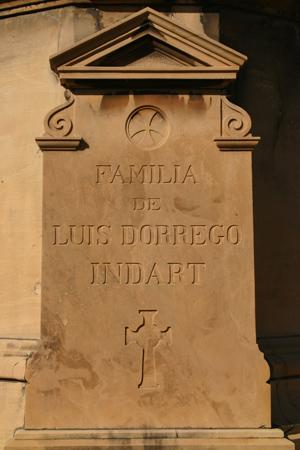 Dorrego Indart, Recoleta Cemetery