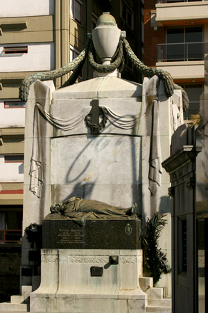 Manuel Quintana, Recoleta Cemetery