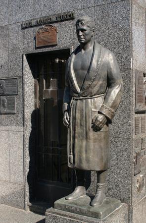 Luis Ángel Firpo, Recoleta Cemetery